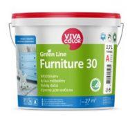 "Baldų dažai ""Vivacolor Green line Furniture 30"""
