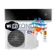 C&H SUPREME BLACK Inverter CH-S09FTXAM2S-BL efektyvus šildymas iki -30°C