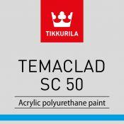 """Vienasluoksniai dažai metaliniams paviršiams """"Tikkurila Temaclad SC 50"""""""