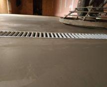Smėlbetonio grindų betonavimas