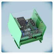 Ventiliatoriaus greičio reguliatorius (elektroninis) valdomas analoginiu įėjimu su TK