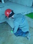 Pakeliamų grindų montavimas
