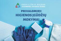 Privalomieji higienos įgūdžių mokymai