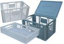 Krovimo į rietuves dėžės 600 x 400 Euronorm
