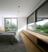 Aliuminio profilio langai ir durys