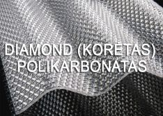 Diamonds (Korėtas) polikarbonatas