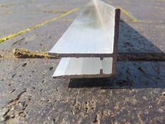 Aliuminis profilis F 6 mm. arba 10 mm.polikarbonatui užbaigti