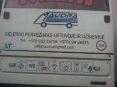 Keleivių pervežimai Lietuvoje ir užsienyje