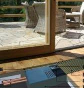 Įleidžiami grindiniai konvektoriai su ventiliatoriumi
