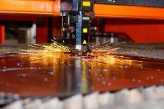 Metalo pjaustymas lazeriu