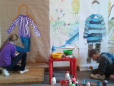Individualūs dailės terapijos užsiėmimai vaikams
