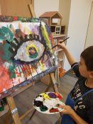Dailės užsiėmimai, dailės terapija vaikams