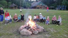 Kaimo turizmo sodybos nuoma stovykloms