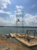 Vandenlenčių parkų statyba