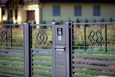Modulinės metalinės tvoros