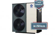 NULITE  22 kW Monoblokas  oras-vanduo šilumos siurbliai