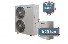 SPRSUN 18 kW Split oras-vanduo šilumos siurbliai