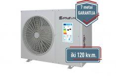SPRSUN 9,5 kW Monoblokas oras-vanduo šilumos siurbliai