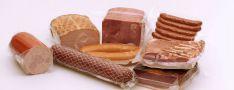 Termosusitraukiantys maišeliai mėsos gaminiams