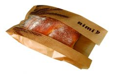 Popieriniai maišeliai duonos ir konditerijos gaminiams