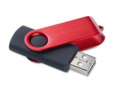 Reklaminė metalinė USB laikmena su įmonės logotipu