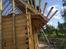 Karkasinių namų statybos darbai