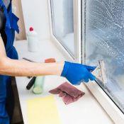 Profesionalus langų ir stiklinių pertvarų valymas