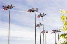 Kurėnų vėtrungės – muziejus po atviru dangumi. Vėtrungių ekspozicija.