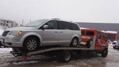 Automobilių nuvežimas/parvežimas iš įvykio vietos