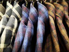 Vyriški flaneliniai marškiniai