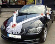 Komplektas vestuvių automobiliui Prabanga