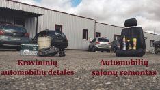Prekyba krovininių automobilių (MAZ, KAMAZ, URAL, GAZ, ZIL) detalėmis