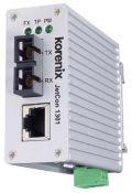 Pramoninis keitiklis optika į Fast Ethernet. Korenix JetCon 1301-M