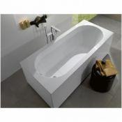 Akmens masės vonia Villeroy&Boch, Oberon 1700x750