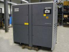 Naudoti pramoniniai kompresoriai