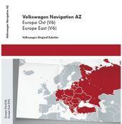 Volkswagen - Rytų (Lietuvos) ir Centrinės Europos žemėlapiai RNS315