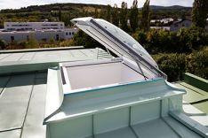 VELUX stogo langai plokštiems stogams