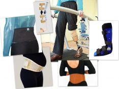 Įtvarinės sistemos, protezai