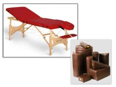 Masažo stalai, priemonės masažui