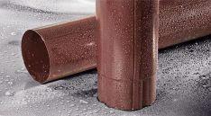 Plieninė lietaus vandens nuvedimo sistema FLAMINGO