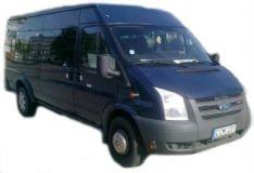 Mikroautobuso Ford Transit nuoma