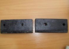 Plokštės guminės kairės ir dešinės pusės