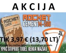 ROCKET CEMENT M-600 35KG