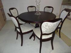 Vienos kojos uosio masyvo stalas Rokas-15 ir kėdė Miglė-15