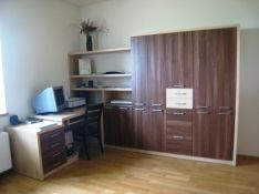 Darbo kambario baldai su spinta Jūra 1