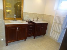 Klasikiniai vonios kambario baldai Tauras-5