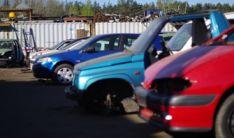 Netinkamų transporto priemonių supirkimas, utilizavimas