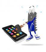 SAMSUNG, LG, SONY, HUAWEI mobiliųjų telefonų ir planšečių ekranai ir dalys
