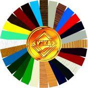Plastikinių langų spalvų gama