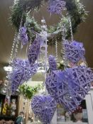 Provansinė Kalėdų dekoracija